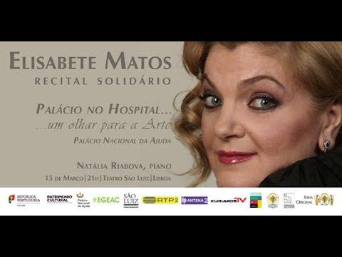 Recital solidário com Elisabete Matos
