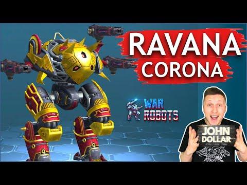 Боевые роботы - Ravana на Corona! С Джоном Долларом!