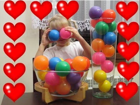 Ball Pit Show for learning colors  - children's educational