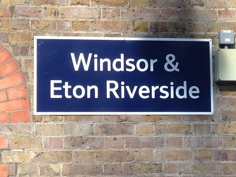 Full Journey on South West Trains from Windsor & Eton Riverside to London Waterloo