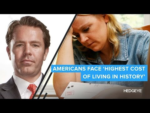 Americans Face 'Highest Cost of Living In History'