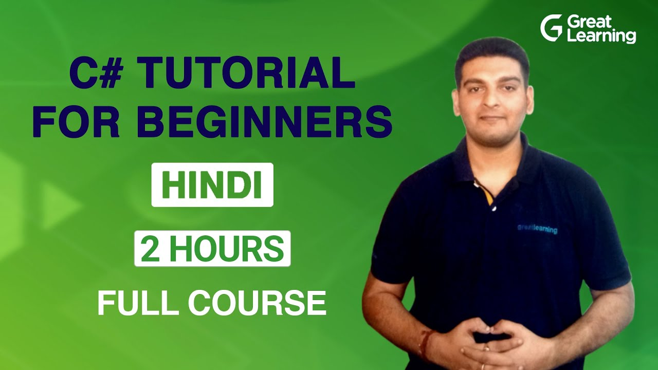 C# Tutorial For Beginners In Hindi | Learn C# Programming in 2021