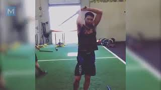 Carlos Condit MMA Training Highlights  Muscle Madness