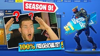 *NEW* SEASON 9 BATTLE PASS in Fortnite (100% FREE)