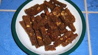 Сухарики с чесноком из бородинского хлеба
