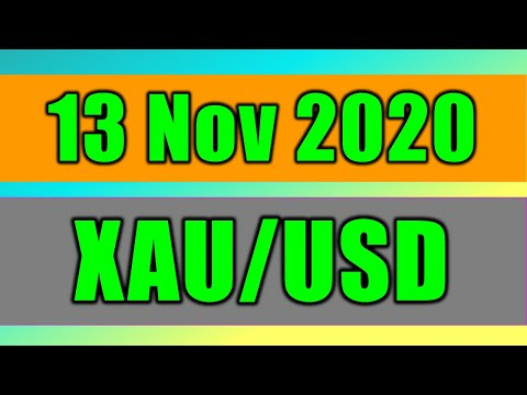 XAU/USD Daily Forecast Analysis on 13 November 2020 by Trading Gold Today Review