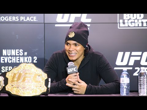 UFC 215: Amanda Nunes Post-Fight Press Conference – MMA Fighting