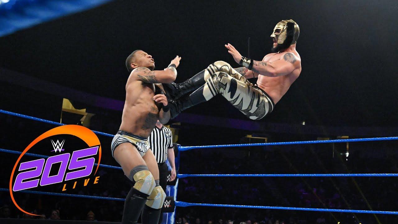 Lince Dorado vs. Lio Rush: WWE 205 Live, Jan. 15, 2019
