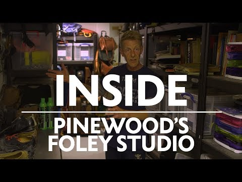 Inside the Pinewood Foley Studio | BAFTA Guru