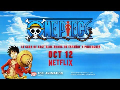 One Piece avance en español latino redoblaje en Netflix. Primer avance
