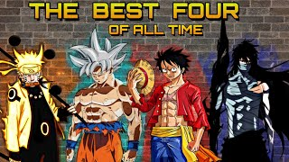 "[AMV] ANIME'S GREATEST - Goku, Naruto, Luffy, Ichigo - ""Courtsey Call (Nightcore)"""