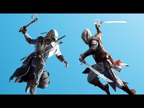 Assassin's Creed 4 Brutal Battle Longest Flawless Fight In AC4 History