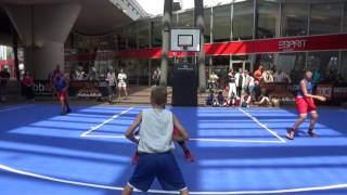 Streetball Tigers Game 1 Finals Amsterdam Summer Tour 2016