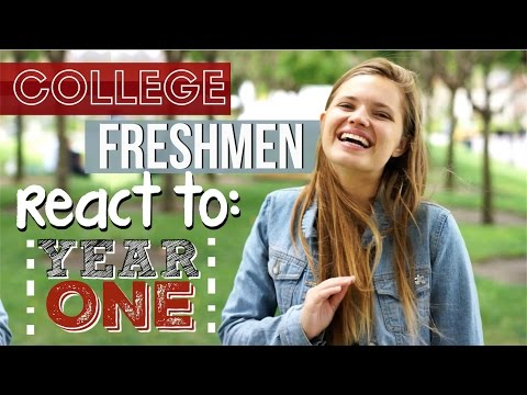 Freshmen React to Their First Year of College