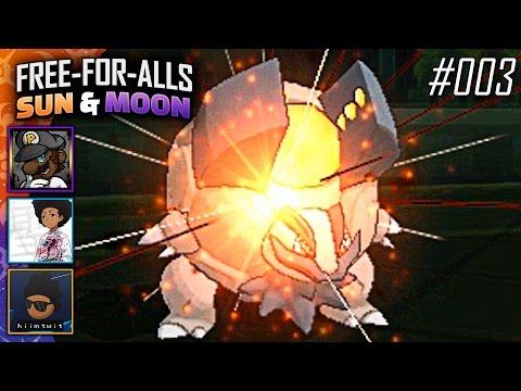 Pokémon Sun & Moon FFAs #003 Feat. PKSparkxx, SacredFireNegro & Twit!
