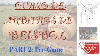 Part 2 - Curso de Arbitros de Beisbol - Baseball Umpire Course - Mejorado/Improved