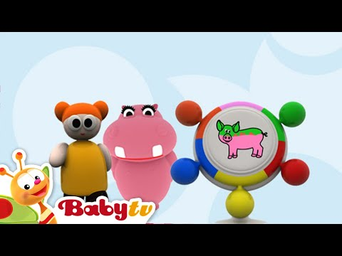 kleurenspel - Hippa Hippa Hey, BabyTV Nederlands