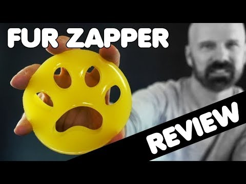 Fur Zapper Review: Laundry Pet Hair Remover