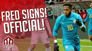 Fred SIGNS for MANCHESTER UNITED! Man Utd Transfer News