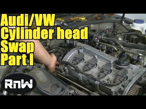 How to Remove and Replace a Cylinder Head - Audi A4 A6 VW Passat