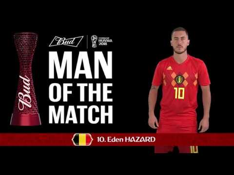 Eden HAZARD - Man of the Match - MATCH 54