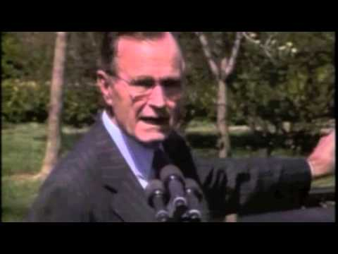 George Bush and Broccoli