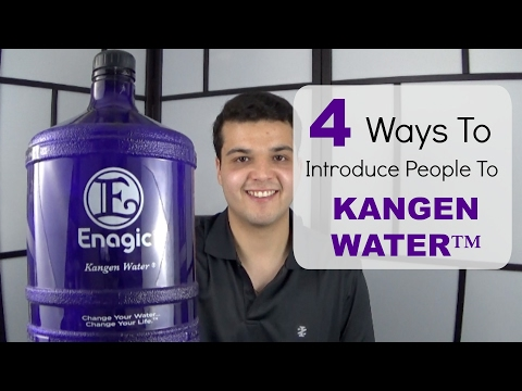 4 Ways To Introduce People To Kangen Water™
