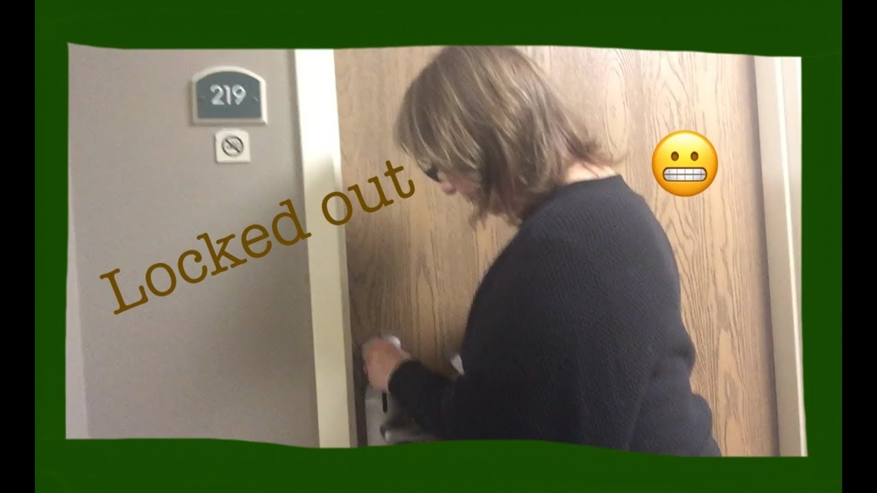 LOCKED OUT OF OUR HOTEL ROOM - YouTube