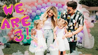 TAYTUM AND OAKLEY'S THIRD BIRTHDAY PARTY (OFFICIAL VIDEO)