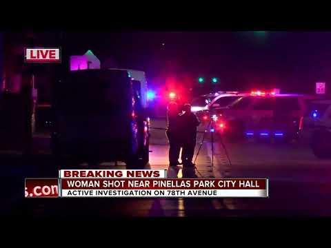 Woman shot near Pinellas Park City Hall