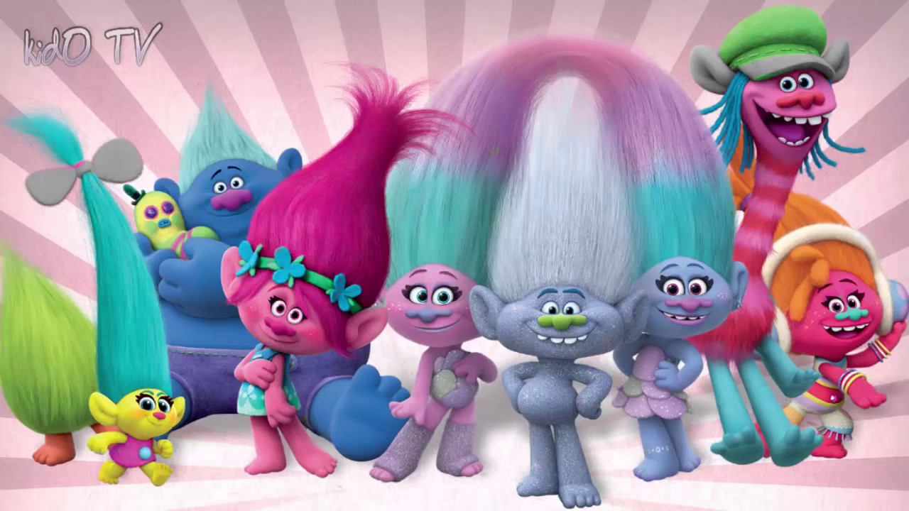 Trolls Movie 2016 Kids Coloring Book | Coloring Pages for ...