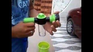 Lava jato portátil 12 V: carros, ar-condicionado, fachadas...