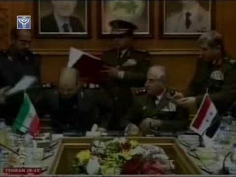 Iran, Syria sign mutual defense pact