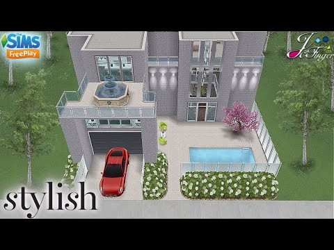 Sims FreePlay 🚘🏡| STYLISH HOUSE |🏡🚘 By Joy.