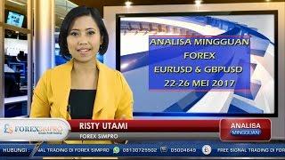 Analisa Mingguan Forex EURUSD & GBPUSD 22-26 Mei 2017