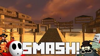 BEST GAME OF JENGA EVER! | Gmod SMASH Funny moments #1