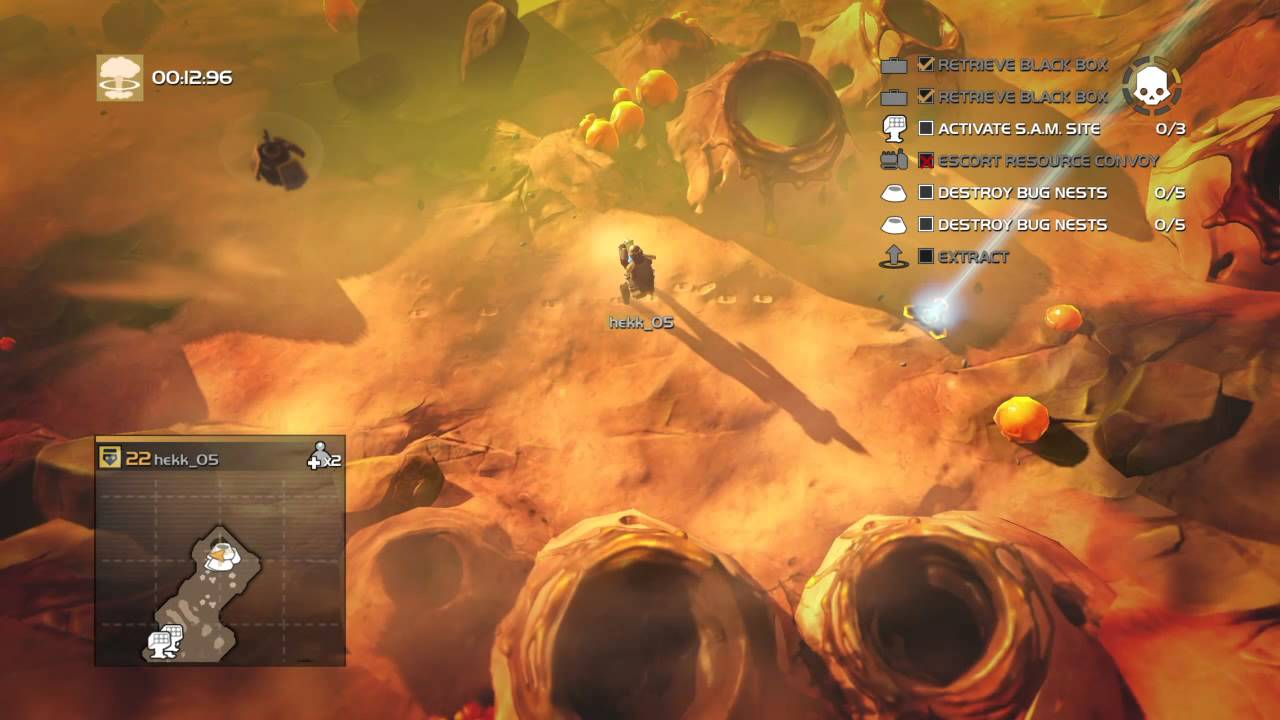 HELLDIVERS™ Kepler Prime Helldive Solo Undetected - YouTube