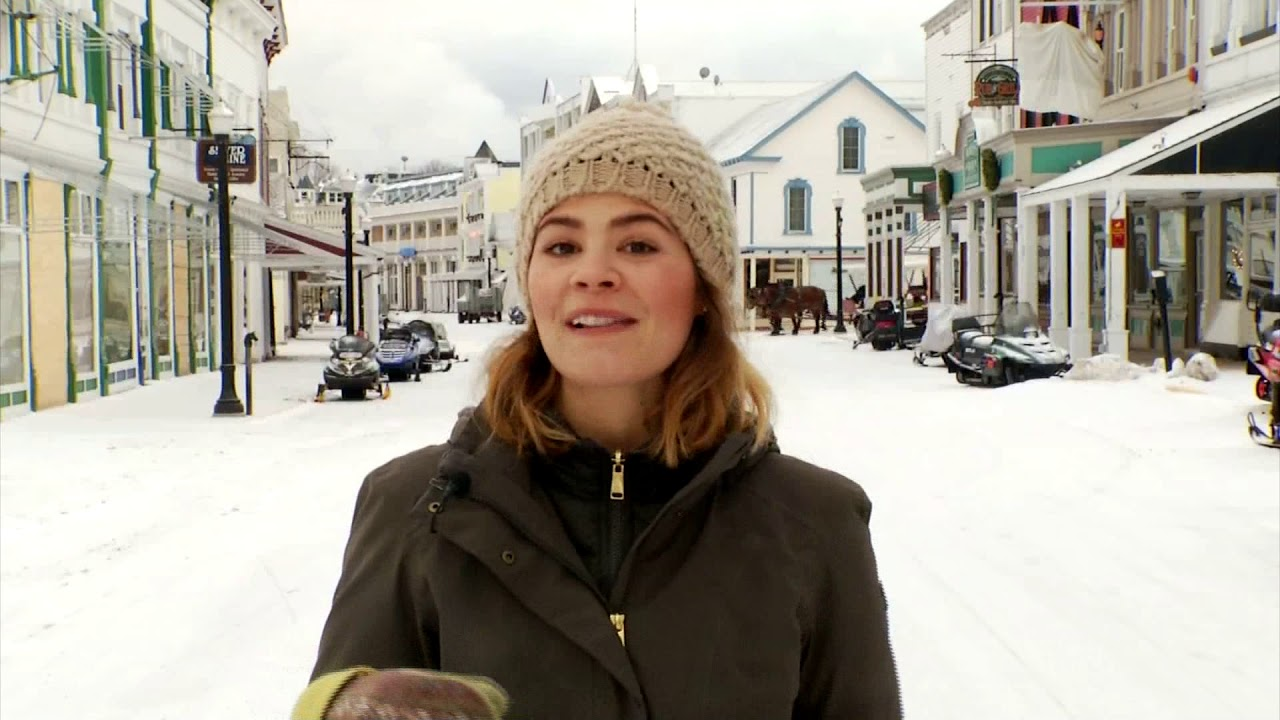 Mackinac Island In The Winter Series Youtube