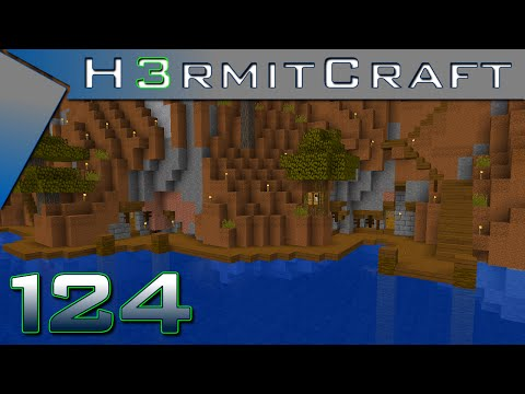 HermitCraft 3 Amplified ~ Ep 124 ~ Ocean Front Property!