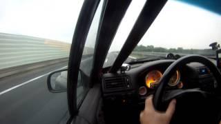 Opel Calibra z32se + Holset Hx55 #2 low boost test