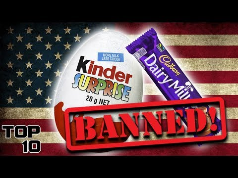 Top 10 Foods That Are Banned In America