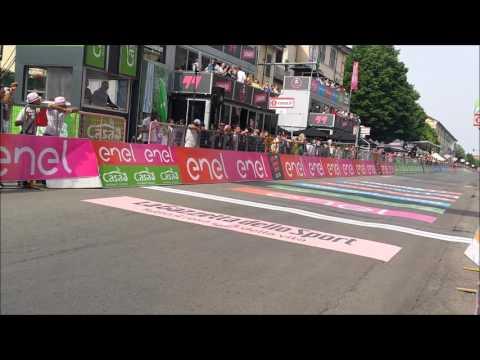 Matteo Trentin vince Tappa 18  Muggiò-Pinerolo Giro d'Italia 2016