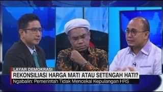 Panas! Ali Ngabalin vs Andre Rosiade Debat Rekonsiliasi Jokowi-Prabowo #LayarDemokrasi
