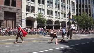 San Francisco Pride Parade 2013 SWANABAQ South West Asian & North African Bay Area Queers