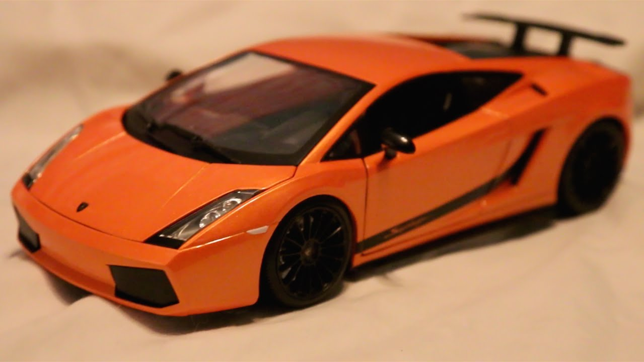 Review 1 18 Scale Maisto Lamborghini Gallardo Superleggera Youtube