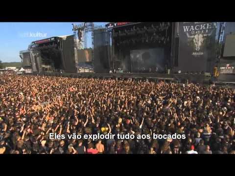 Down From The Sky - Trivium - Live @ Wacken Open Air 2011 Legendado PTBR 720p HD