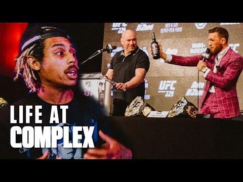 Khabib vs McGregor UFC229 Press Day With Dana White! | #LIFEATCOMPLEX