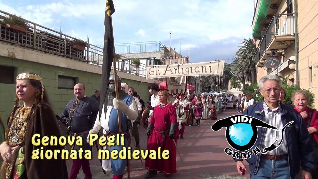 Great Genova Pegli :festa Medievale