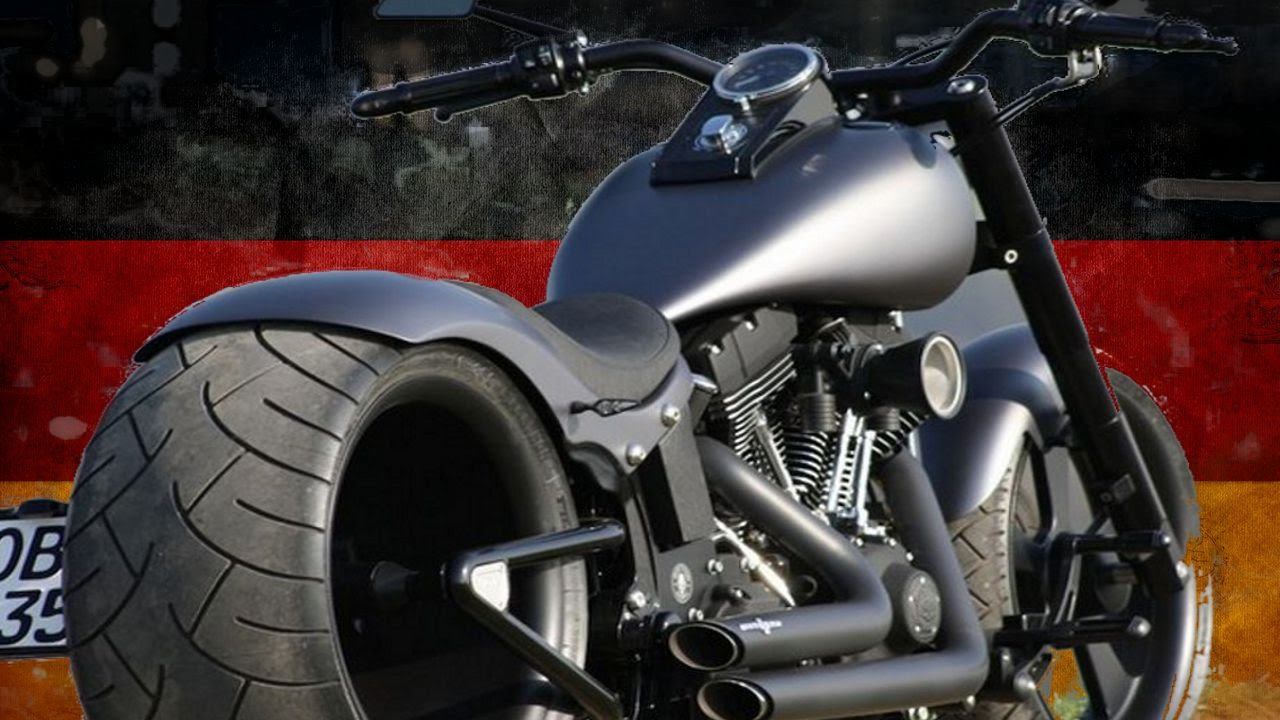 Harley Davidson Softail by W & W Cycles | Motorcycle Muscle Custom Review