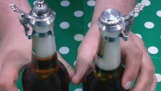 Bierflaschen-Verschluss für alle Handelsüblichen Bierflaschen gegen Insekten